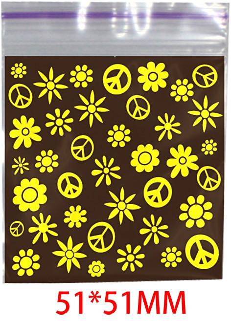 Hippie Printed Bag 51mm X 51mm