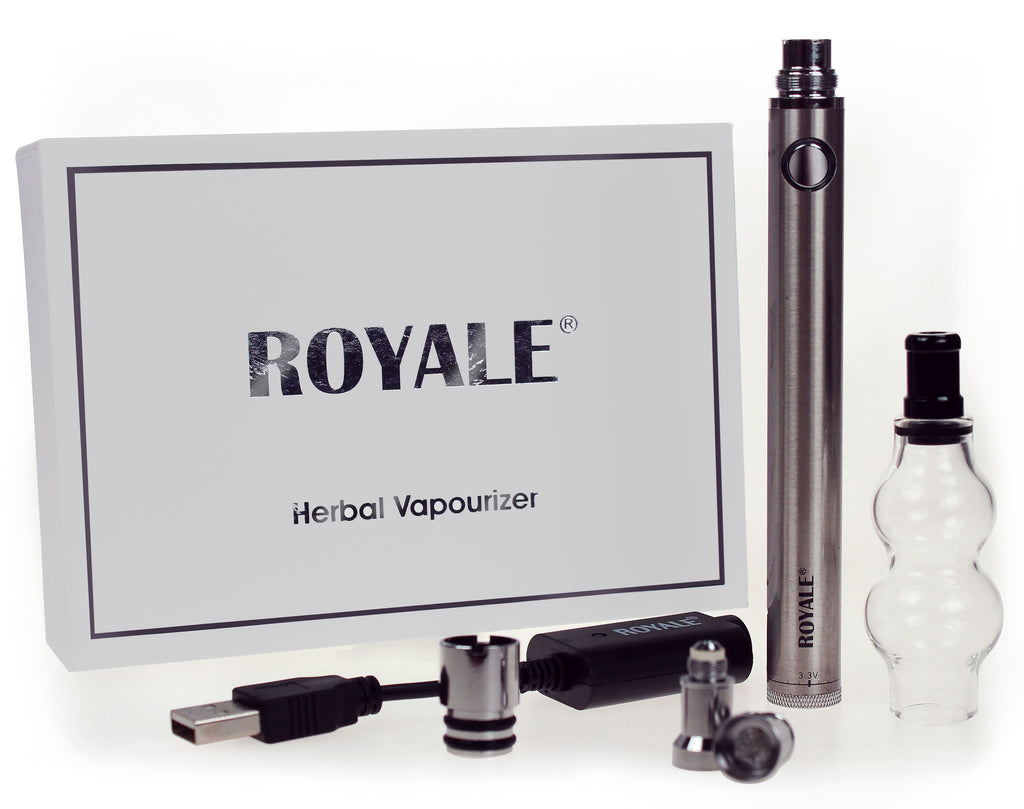 Hand Held Adjustable Multi Voltage Herbal Vapouriser (1100MAH)
