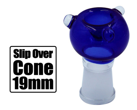 Slip Over 19mm Glass Cone - BongsMart