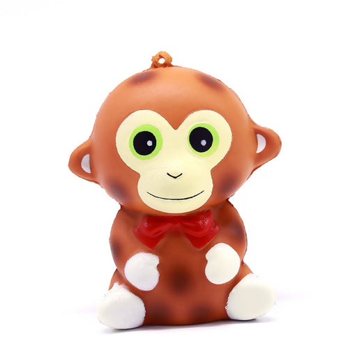 Squish-Eez single Monkey Scented Slow Rising Squishy Toy