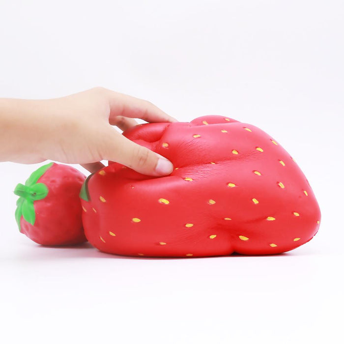 Squish-Eez Giants single Giant Strawberry Scented Slow Rising Squishy Toy