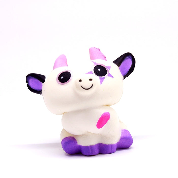 Squish-Eez single unicorn with star Scented Slow Rising Squishy Toy