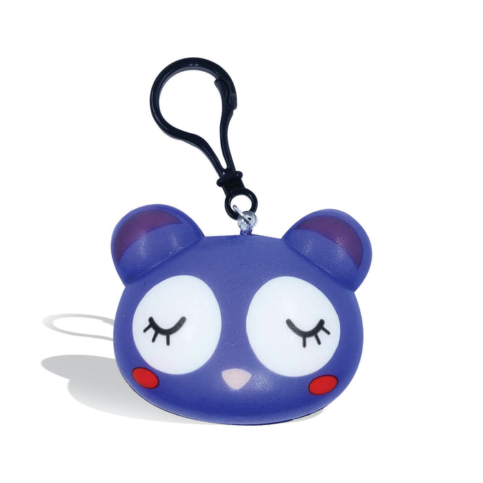 Squish-Eez single Blue Mouse Back Pack Buddy Scented Slow Rising Squishy Toy