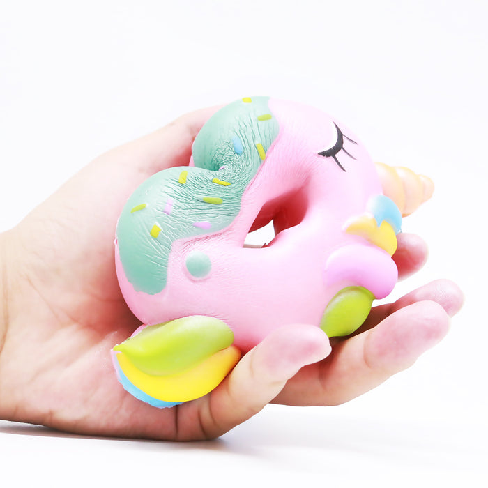 Squish-Eez single Donut Unicorn Scented Slow Rising Squishy Toy