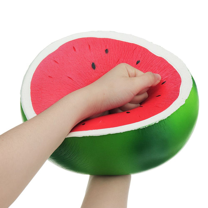 Squish-Eez Giants single Giant Watermelon Scented Slow Rising Squishy Toy
