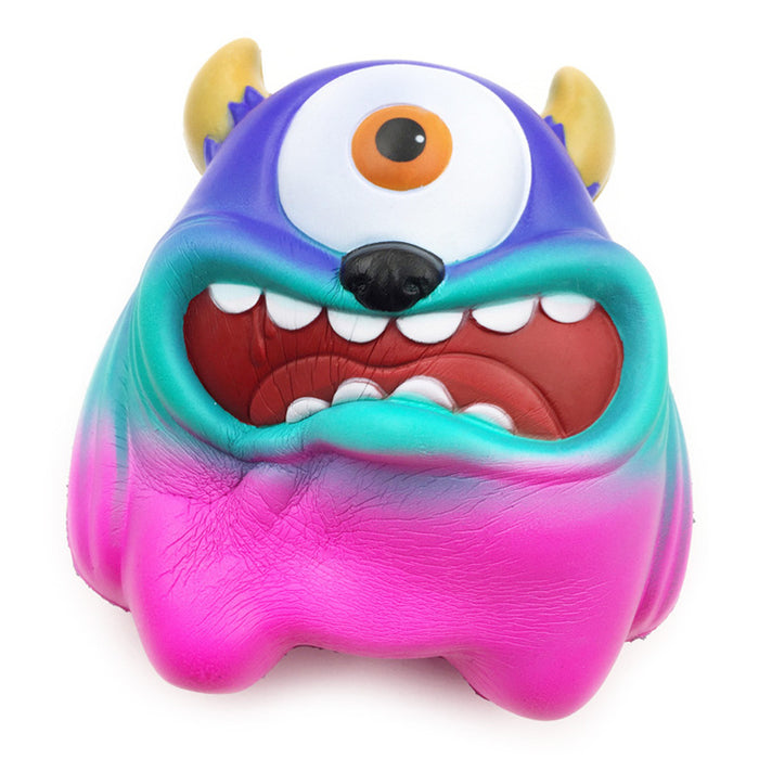 Squish-Eez Giants single giant monster multicolor  Scented Slow Rising Squishy Toy