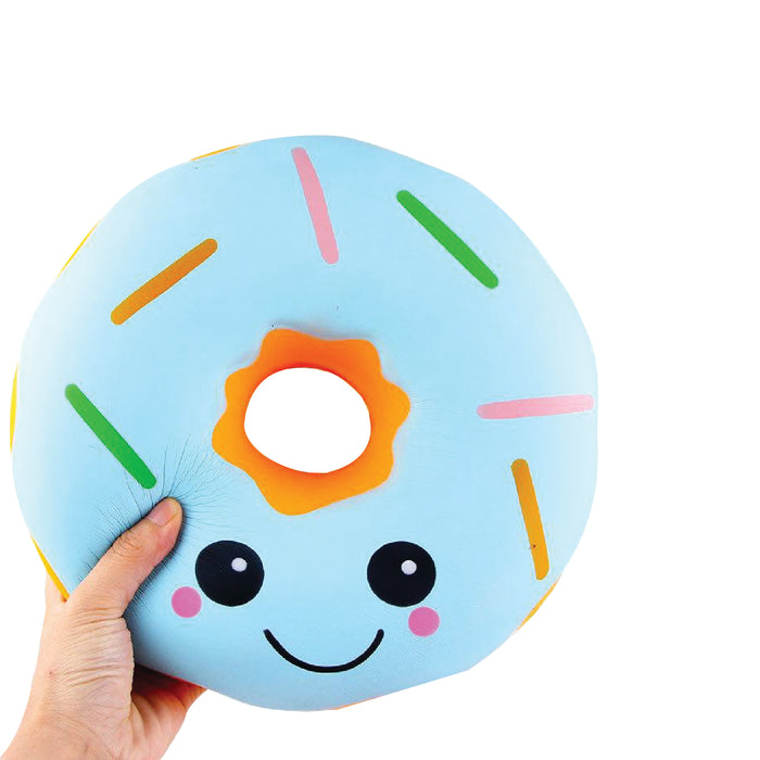 Squish-Eez Giants single Giant Donut Blue Scented Slow Rising Squishy Toy