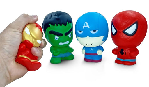 SALE!!! 4 Pack Squish-Eez Super Heroes!