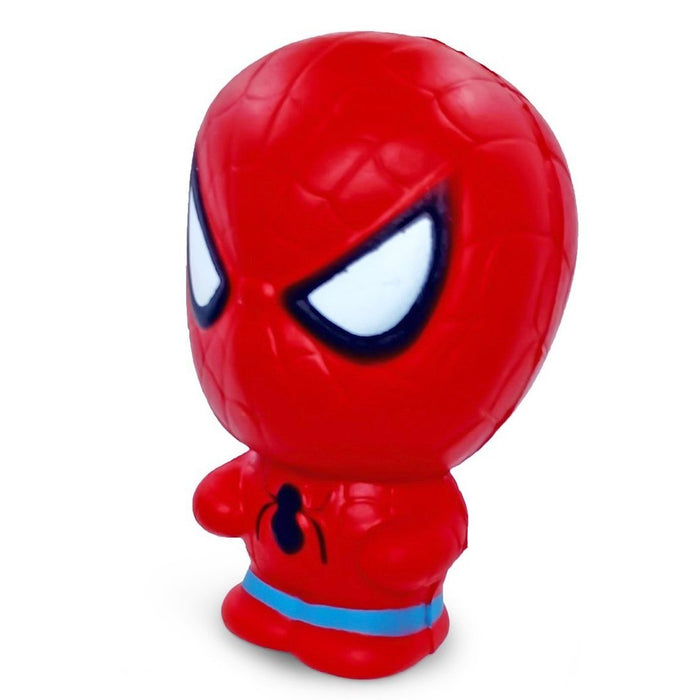 Squish-Eez single Superheros Spiderman Scented Slow Rising Squishy Toy