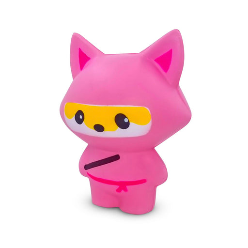 Squish-Eez Jumbo Characters single Pink Ninja Fox Scented Slow Rising Squishy Toy