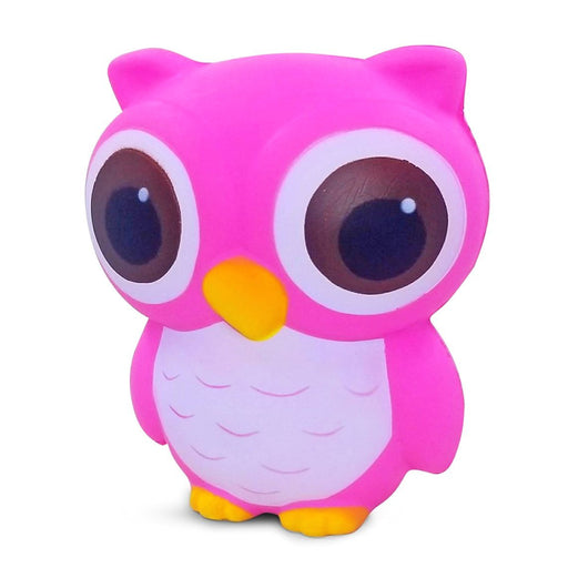 Squish-Eez Jumbo Characters single Big Eye Owl Slow Scented Slow Rising Squishy Toy