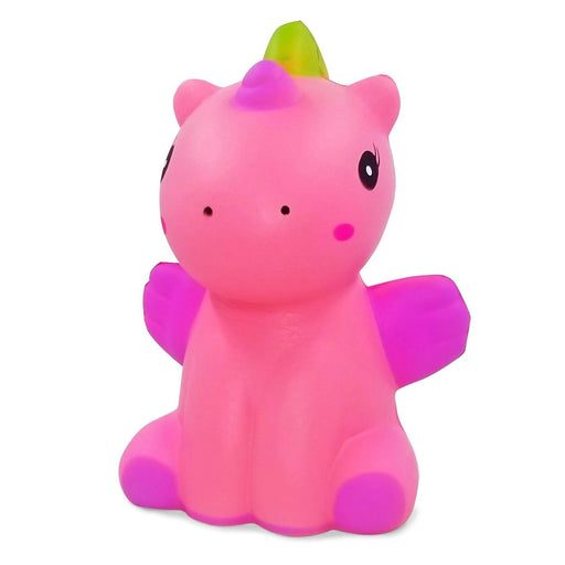 Squish-Eez Jumbo Characters single Sitting Winged Unicorn Pink  Scented Slow Rising Squishy Toy