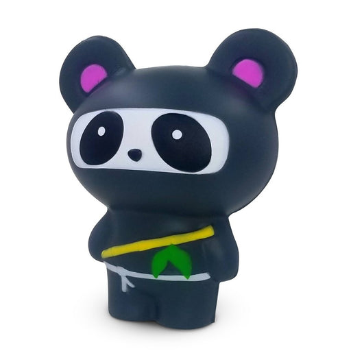Squish-Eez Jumbo Characters single Black Ninja Panda  Scented Slow Rising Squishy Toy
