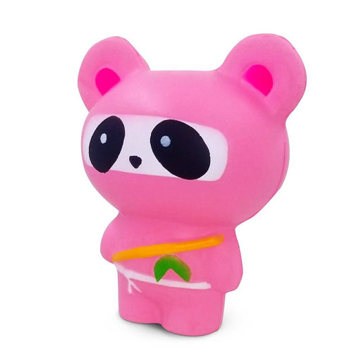 Squish-Eez Jumbo Characters single Pink Ninja Panda  Scented Slow Rising Squishy Toy