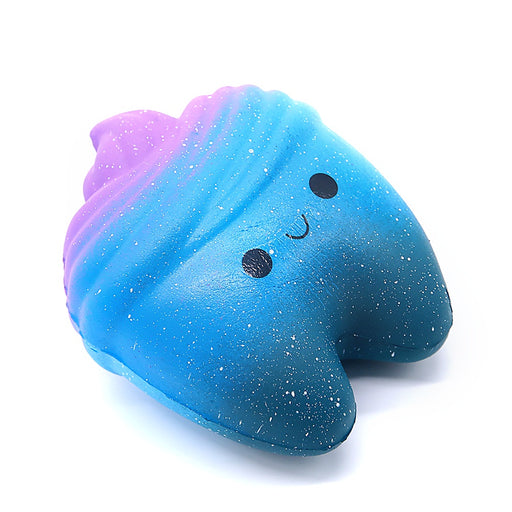 Squish-Eez single galaxy tooth  Scented Slow Rising Squishy Toy