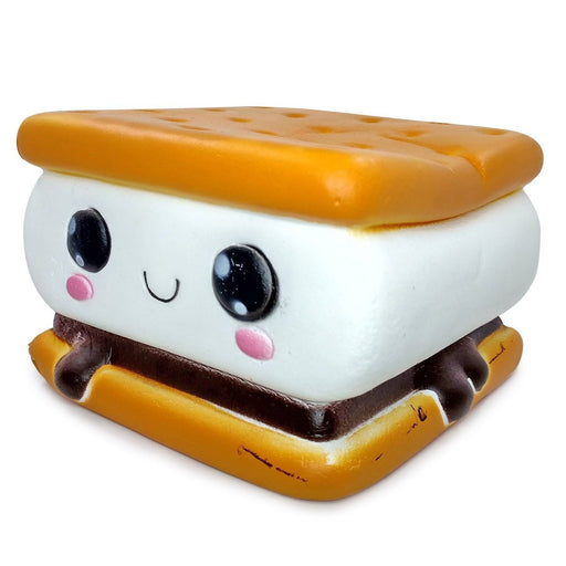 Squish-Eez Jumbo Characters single Sammy S'more Scented Slow Rising Squishy Toy