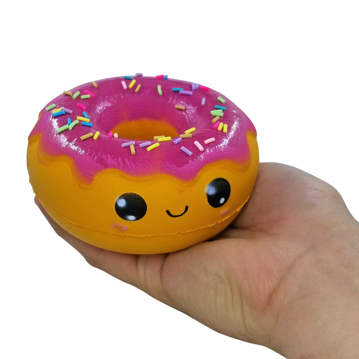 Squish-Eez Jumbo Characters single Daisy Donut Scented Slow Rising Squishy Toy