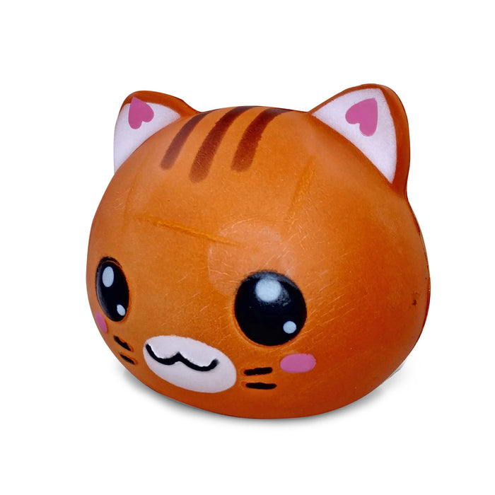 Squish-Eez Jumbo Characters single Kelly Kitten Face Scented Slow Rising Squishy Toy