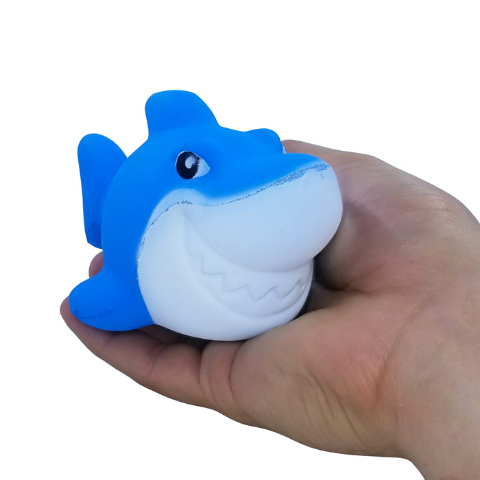 Squish-Eez Jumbo Characters single Sharky Scented Slow Rising Squishy Toy