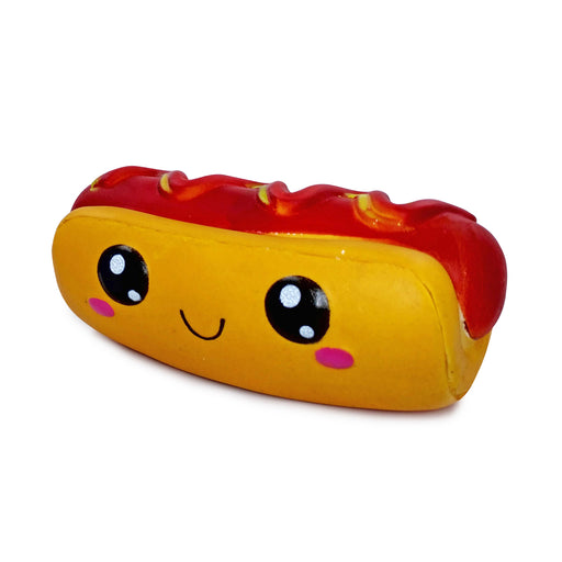 Squish-Eez Jumbo Characters single Henry Hot Dog Scented Slow Rising Squishy Toy