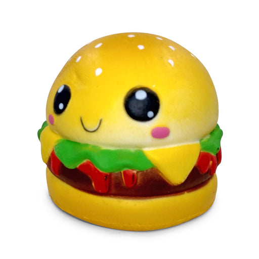 Squish-Eez Jumbo Characters single Hammy Hamburger Scented Slow Rising Squishy Toy