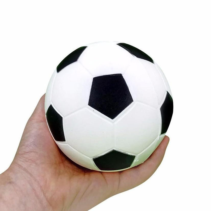 "Squish-Eez Jumbo Sports single  4"" Soccer  Scented Slow Rising Squishy Toy"