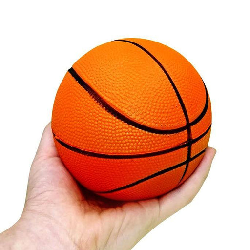 "Squish-Eez Jumbo Sports single  4"" Basketball Scented Slow Rising Squishy Toy"