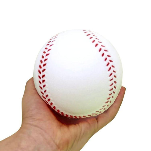 "Squish-Eez Jumbo Sports single  4"" Baseball Scented Slow Rising Squishy Toy"