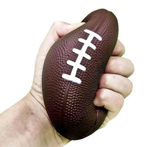 "Squish-Eez Jumbo Sports single 5""x3.5"" Football Scented Slow Rising Squishy Toy"