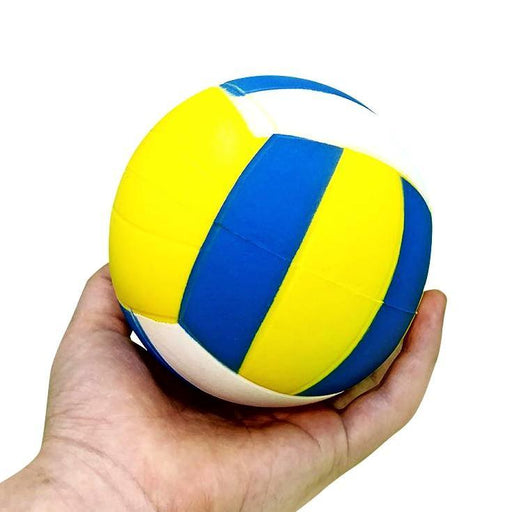 "Squish-Eez Jumbo Sports single  4"" Volleyball Scented Slow Rising Squishy Toy"