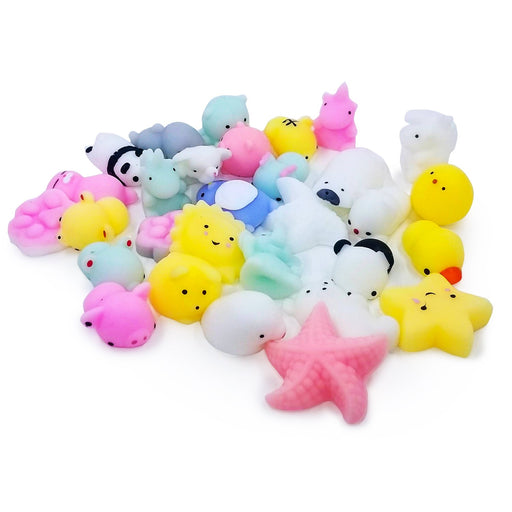 Squish-Eez Mochi pack Mochi 30 pack Scented Slow Rising Squishy Toy