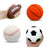"Squish-Eez Jumbo Sports pack 4 Pack  (4"") - Soccer, Football, Basketball, Baseball Scented Slow Rising Squishy Toy"
