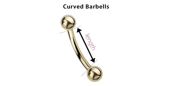 Curved Barbells & Belly Button Rings