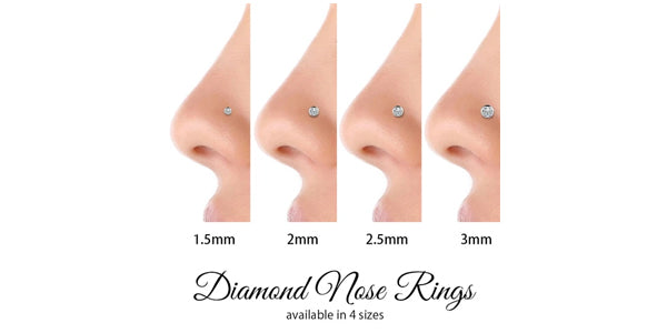 Diamond-nose-ring