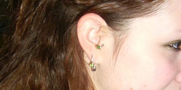 pain of tragus piercing