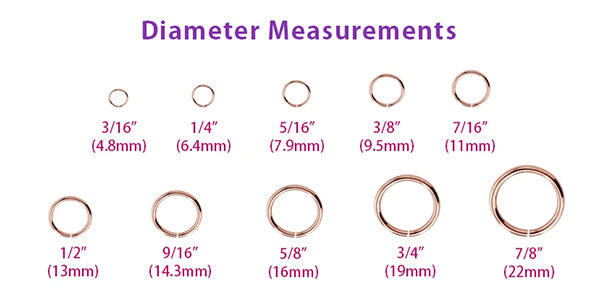 Piercing Jewelry Diameter