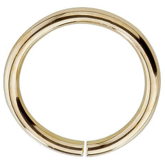 14k Gold Seamless Hoop Rings