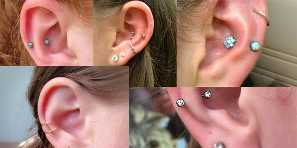 Snug piercing jewelry styles