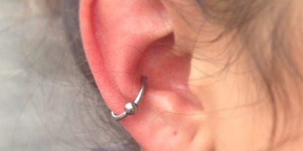 get an auricle piercing