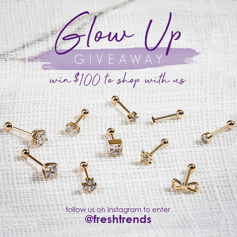 Follow us on Instagram @freshtrends, for a chance to win a $100 gift card to shop with us.