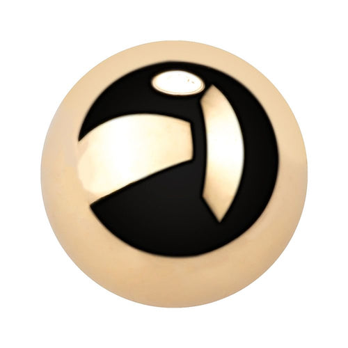 14K Gold Replacement Ball for Captive Bead Ring