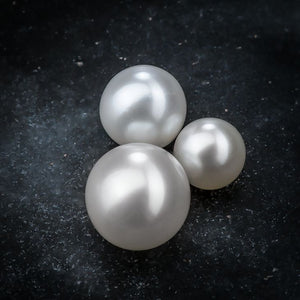 Cultured Pearl Internally Threaded 14K Gold Replacement Ball