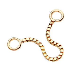 Box Chain Piercing Jewelry Add-on Accessory