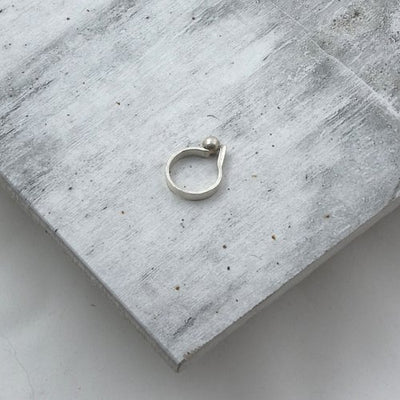 LM WHITE: Structural Shapes Ring