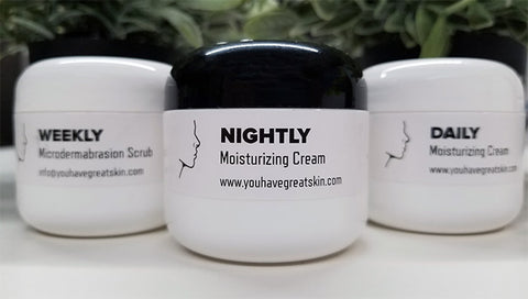 complete skin system nightly daily moisturizing microdermabrasion scrub