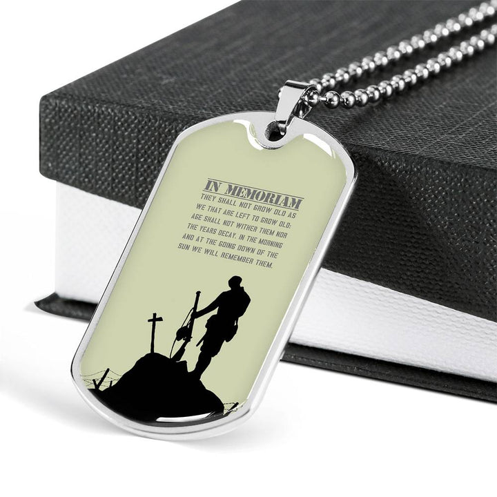 Military Dog Tag Necklace MD Doctor Gift Necklace Medical Professional Prayer Dog Tag Doctor Prayer  DOG TAG