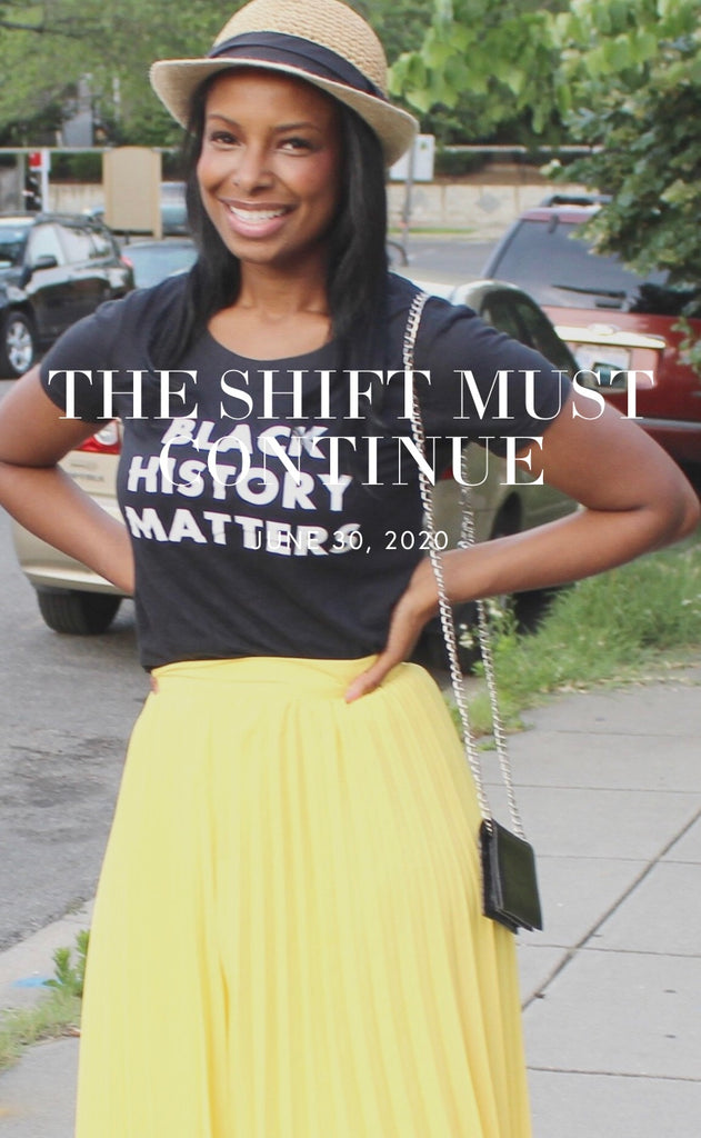 The Shift Must Continue By Kayra Alvarado