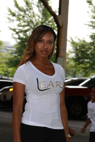 LEARN (LADIES V-NECK)