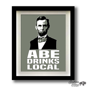 Abe Drinks Local