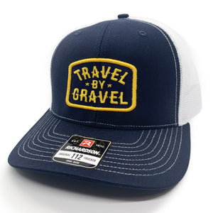 Travel By Gravel patch cap